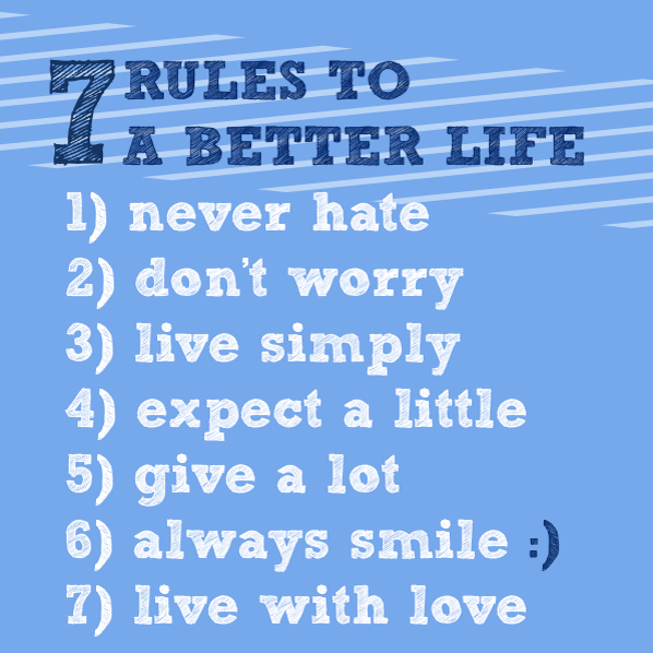 7 Rules Of Life Quote Endearing Ruleslifequotes7_Tyrone Smith  A Dreamer Lives For Eternity.
