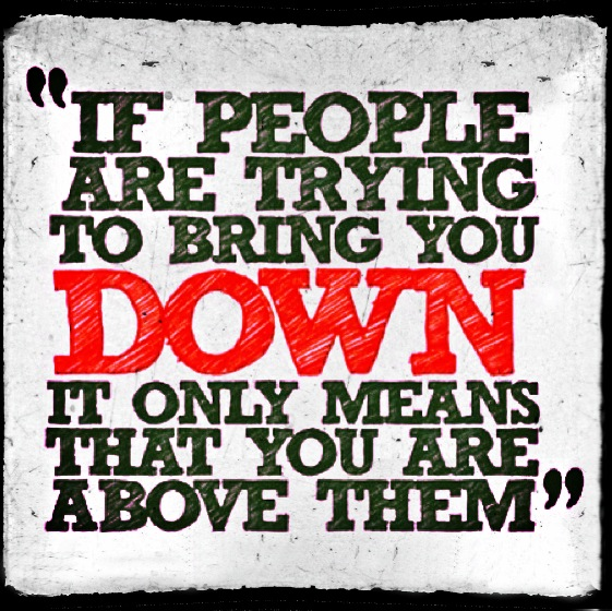 If People Try to Bring You Down_Tyrone Smith-Positive_Celebrity_music producer-Dream-Work