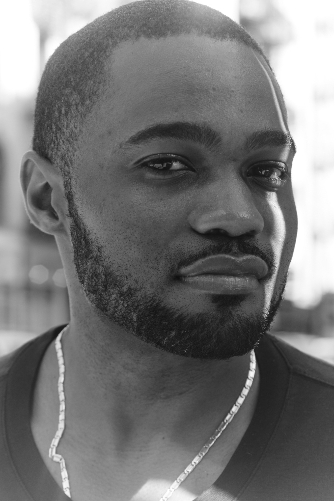 Music Producer, Social Influencer and Celebrity Tyrone Smith in Manhattan NYC photographed by Mark Luckasavage