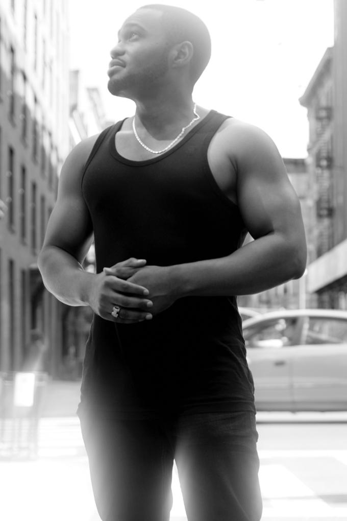 photoshoot soho nyc Tyrone Smith photographer Mark Luckasavage