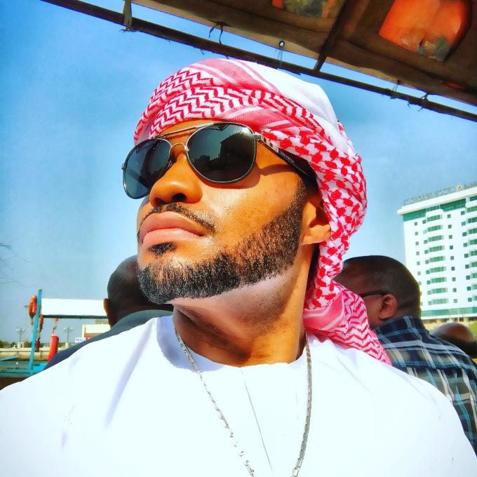 celebrities Thankful Tyrone Smith Dubai Gold Souk musician nyc positive JBR
